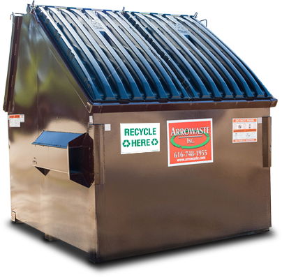 Recycling Dumpster Arrowaste